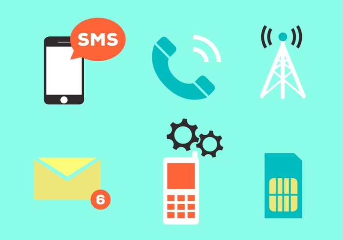 wireless web tower text technology sms icons sms icon sms SIM card settings send Receive phone mobile message media internet envelope email device communication cell call business bubble