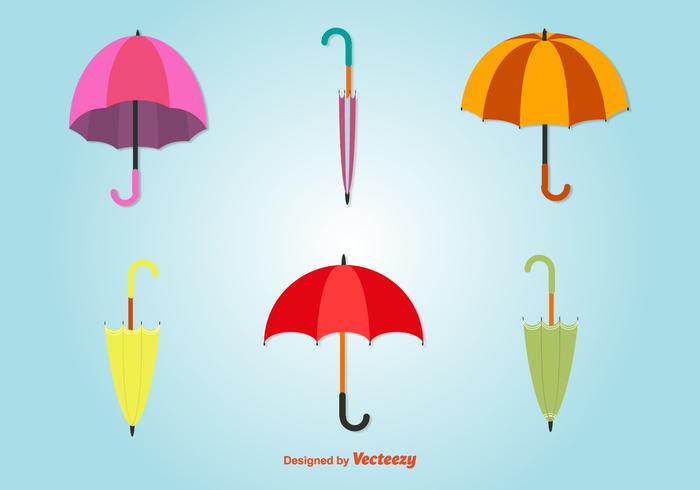 weather vintage umbrella symbol summer spring season rainy rain protection Parasol open object Meteorology icon handle Fall colorful climate bright beach autumn