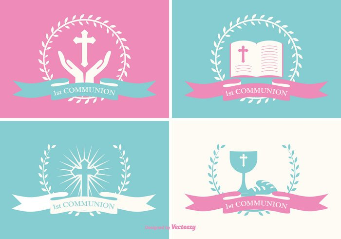 writing symbol Single sign sets sacramento Ritual reminder remembrance religion labels label set label invitation icon holy grail girl first Crucifix confirmation communion church Christianity children chalice catholic card boy belief background assembly
