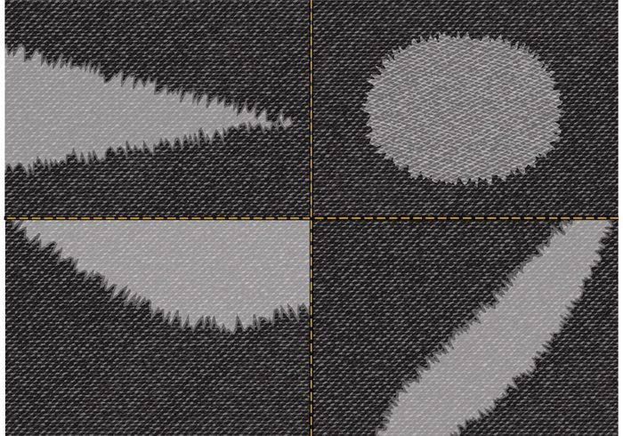 urban torn fabric torn textured texture Textile stitch sewing rough pattern material jeans garment fiber fashion fabric effect design denim cotton clothing cloth black background