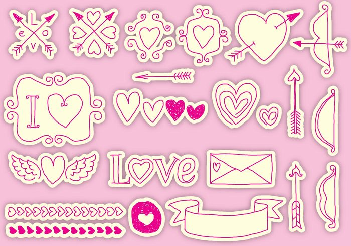 wedding vintage valentines day valentine pattern valentine symbol sketch sign scrapbook romantic romance ribbon love letter invitation holiday heart happy gift frame drawing doodle decoration cute cupids bow cupid clouds characters cartoon card calligraphy bow beautiful background art arrow