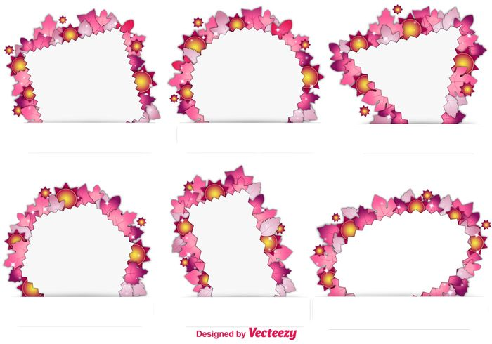 yellow wreath tag suns sunny sun frame sun summer frame summer spring season plant ornate nature frame flower frame flower floral frame floral decorative decoration cute blossom banner