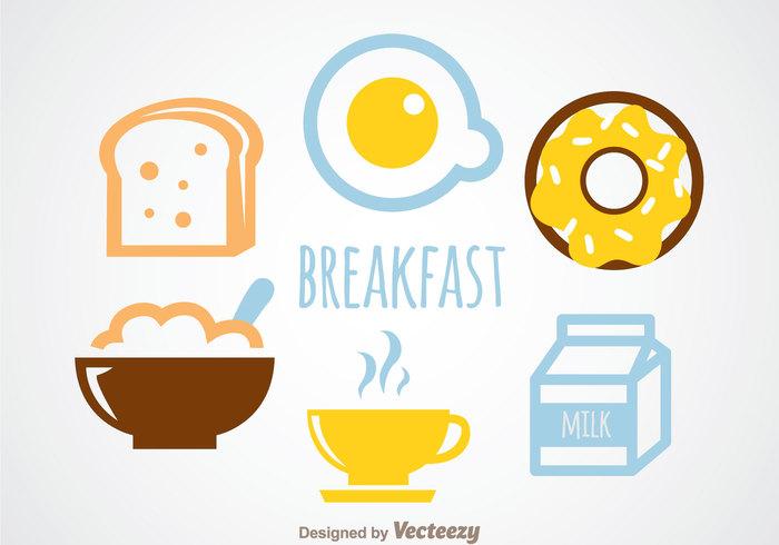 toast tea oats oat milk menu hot food egg eat donut coffe breakfast bread