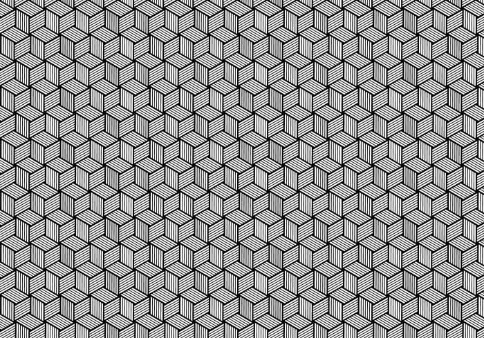 Wired vector texture stylish striped star shape seamless pattern modular modern lines latticed hexagonal graphic FILL fabric diamond design decorative black background art abstract