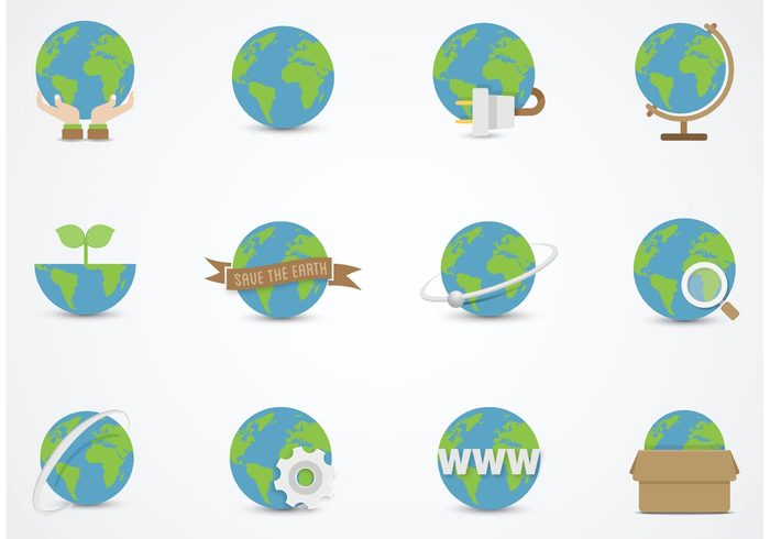 Free earth globe vector flat icons 139245 welovesolo free earth globe vector flat icons 139245 gumiabroncs Image collections