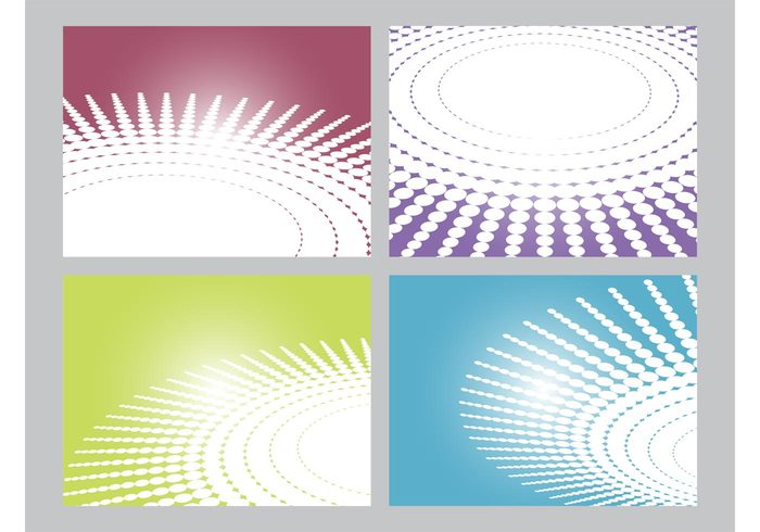 wallpapers templates geometric shapes Ellipses decorative decorations circles Backgrounds Backdrops