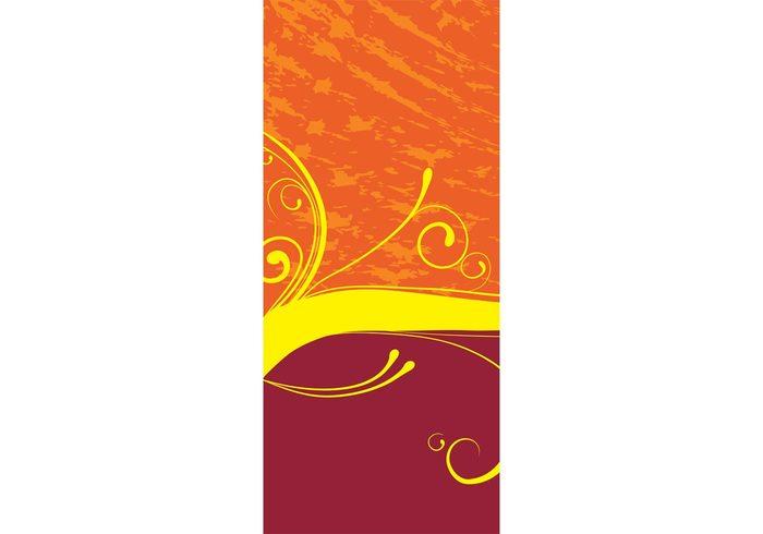 vector design swirls stains scrolls scroll layout invitation effect blog background backdrop