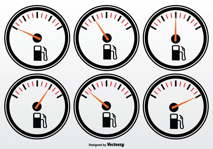 white vehicle transportation transport tank symbol station sign scale running round pump petrol panel meter measurement level isolated indicator icon guage set gauge Gasoline gas gallon full fuel gauge fuel equipment environment energy empty efficiency display Diesel dial dashboard control car black background automobile auto arrow app