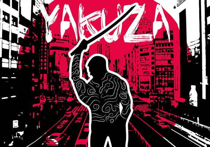 yakuza weapon Violence Villain vector tattoo sword psychotic profile prison person organized Offender Murderer murder man males male mafia Law Killer katana Justice japan Jail inmate Imprisoned illustration hand gangster gang fighting spirit Fight Fear Escape design danger Criminal crime crazy convict comics city business boy body blood blackmail bad asia art arrested Armed angry Adult