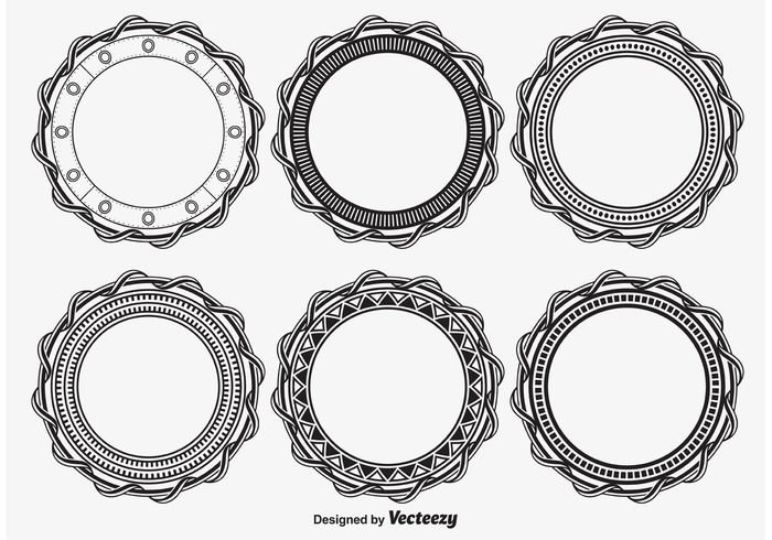 vintage victorian vector swirl style shape set scroll round frames round retro pattern oval ornate old fashioned old moon modern illustration graphic frames frame set frame flourishes engraving embroidery element design element design decorative decoration decor collection circular frames circular circle brush branch border black background antique abstract