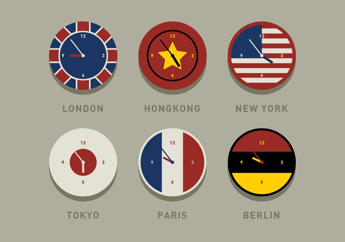 zone york world watch vector variation travel Tokyo timezone time zone time set red Paris office number new modern minute measurement London isolated international hour hongkong green graphic global geography flat flag Difference dial day country concept colorful clock city circle Cartography brown Berlin Backgrounds Accuracy