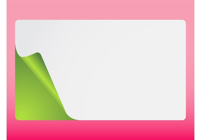 wallpaper template rounded rectangular rectangle peeled color blank background Backdrop image