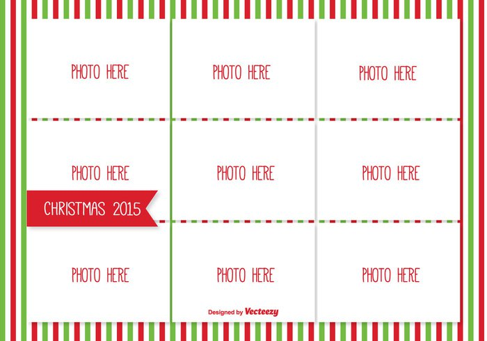 white vector style space pictures picture photos photographs photo template photo collage photo memories image template image holiday collage holiday frame empty December cute collage template collage christmas template christmas card christmas card box border blank banner background 2015