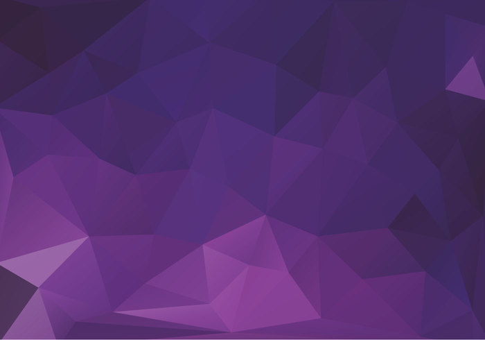 Purple Polygonal Abstract Background: Free Purple Triangles Vector 144133