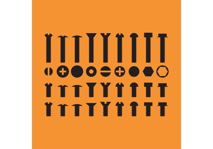 workshop tool silhouette sharp screw...... repair pin object nuts and bolts icon nuts and bolts nuts nut nail metal isolated instrument Improvement hardware hard ware fasteners fasten equipment Engineering drill construction collection bolts bolt black anchor