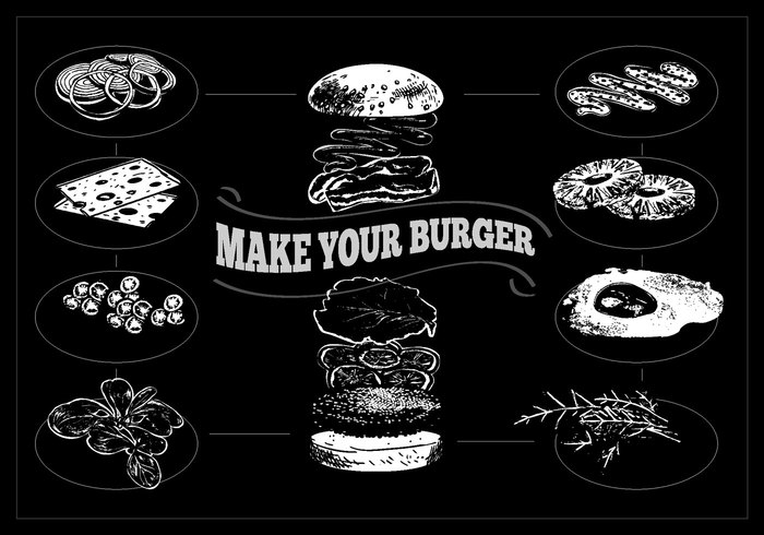 vintage vector Unhealthy traditional tomato Tasty symbol snack sign shape shadow sesame sandwich salad roll retro pork onion object nutrition national meat meal lunch long lettuce illustration icon hamburger graphic fresh food fat fast element eat Diet design delicious Cuisine colorful Cheeseburger cheese calorie burger bun bread beef american