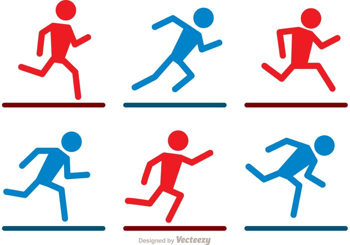 stick figure icon sportsman sports running stick figure running person running runner run player pictogram Healthy Athletic athlete active stick figure active