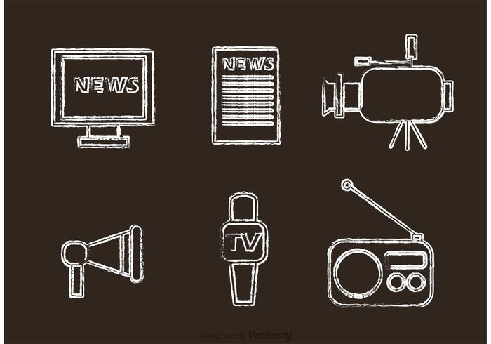 web video tv television technology speech social service satellite reporter report radio profession press Paparazzi newspaper News network multimedia microphone media live latest news journalist Journalism Interview internet icons flat computer camera business broadcasting broadcast article