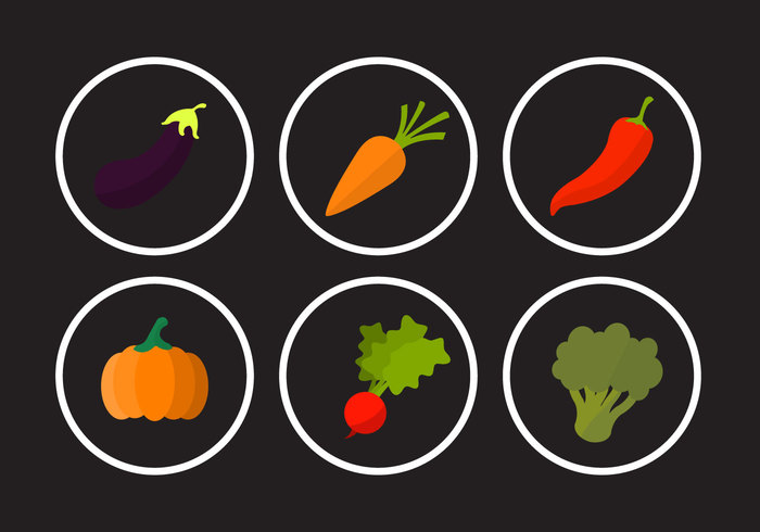 veggie vegetables vegetable symbol pumpkin peppers pepper isolated hot pepper green hot peppers green hot pepper food flat eggplant Cucumber chili carrot broccoli apple