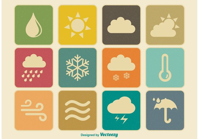 windy wind weather icons weather vintage icons vintage vector vane thermometer temperature symbol sunny sun storm snow retro icons rainy rain pictograms old icons old lightning illustration icons icon set icon ice hurricane hot Hail frosty etching drawing display cold clouds climate classic air