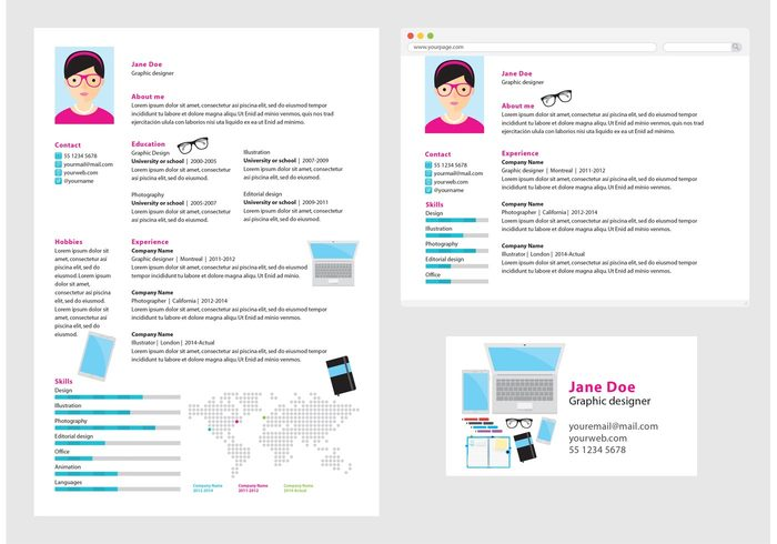 template resume report profession presentation personal people modern information Info-graphics info chart info document data CV curriculum vitae curriculum cirriculum vitae business application