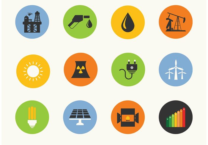wind mills web vector symbol sun style solar panel sign production Plug plain pipe petrol oil droplet oil Mining lamp industry illustration icon fuel flat fire excavator energy element electricity economy ecology cool construction computer icons atom application app