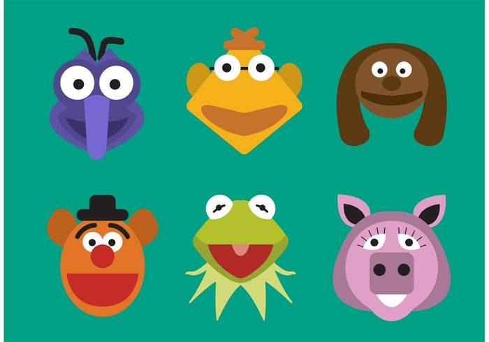 vector typography toy Tongue swim reptile puppet nice nature muppet show kermit the frog kermit jump isolated illustration happy green funny frog drawing cute comic color closeup character cartoon Aquatic animal amphibian