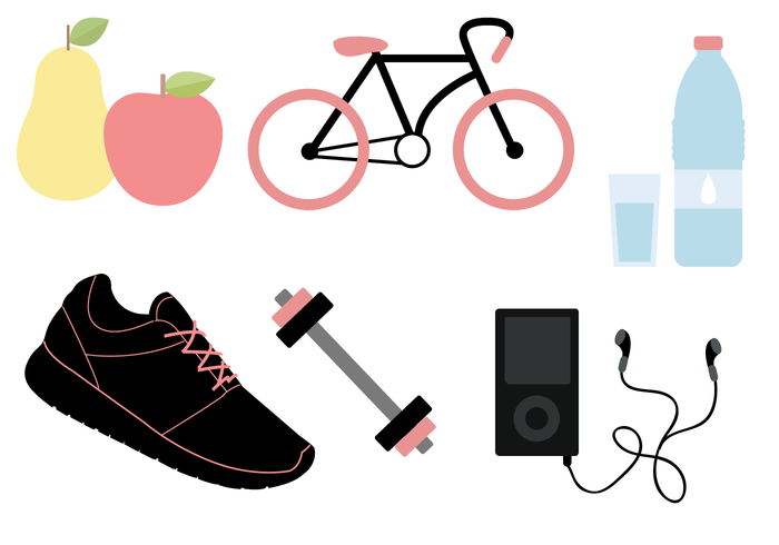 Workout working out weights Weight lifting weight water trainers sporty sport sneakers shoes pear music iPod healthy food health fruit fitness bicycle attire apple