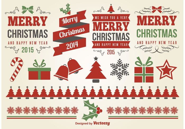 Xmas elements xmas winter vector typography text tag season retro ornament new year merry christmas merry labels label insignia holiday happy new yaer greeting Design Elements design decoration christmas labels Christmas elements christmas 2015