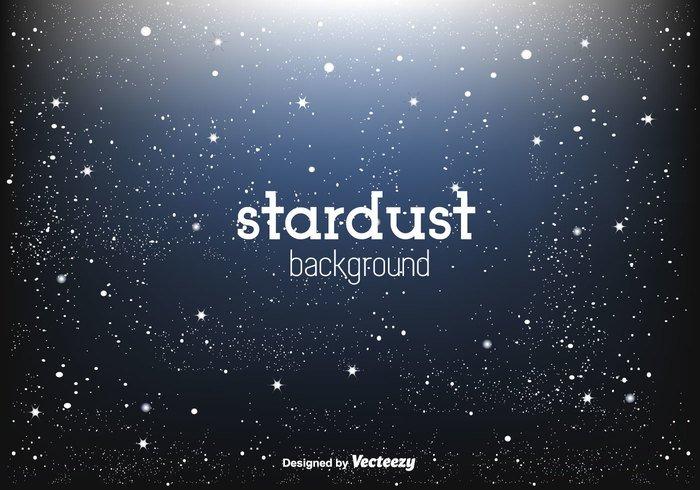 wallpaper vector stars stardust star sparkling sky shining night sky light glow glitter free blue background