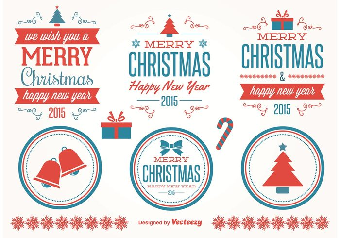 xmas vectors xmas typography snowflake new years labels holidays holiday vectors holiday labels holiday Design Elements Decorative Vectors decorative elements decorative christmas typography christmas labels christmas label Christmas elements christmas