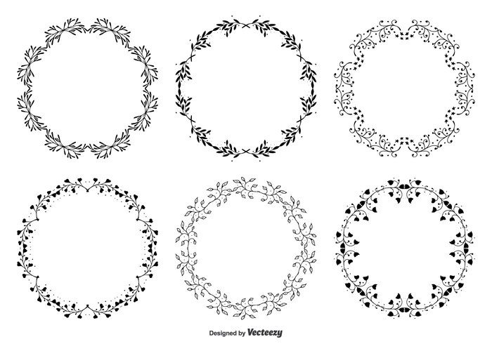 wreath vintage vector text summer spring sketch silhouette set round frames retro plant ornate nature letter invitation hand drawn hand Garland frames frame set frame flower floral frames floral drawn drawing doodle frame decorative cute frames cute clip art classical card bow blooming beauty background abstract