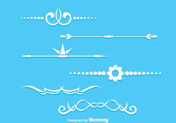 white wedding shape page outline ornament line horizontal fancy lines fancy line fancy elegant devider decoration classic