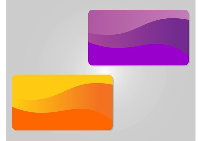 waving waves shapes Rectangles lines gift cards Debit cards credit cards colors cards business cards abstract