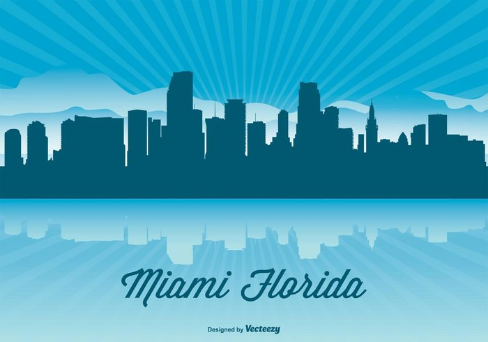 1ujvrjqxqdv Miami Skyline Illustration 149749