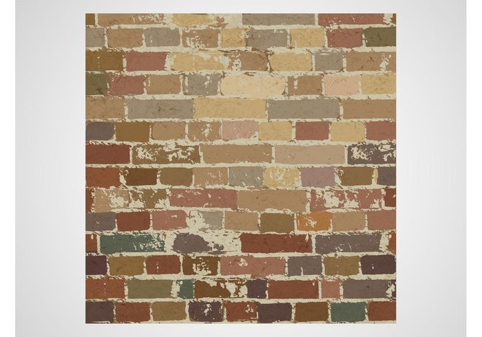 wallpaper Wall vector stained old house grunge exterior detailed building bricks background backdrop architecture