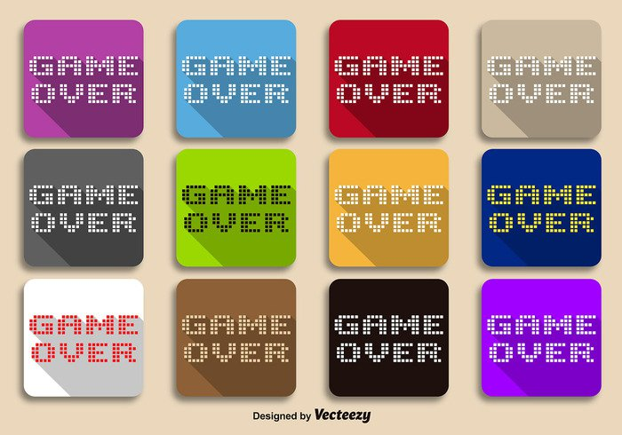 virtual video vector text terminal shadow screen retro play pixelated pixel old level letters green gaming game-over game fun fluorescent final failure end electronic digital death computer colorful bit arcade 8 bit