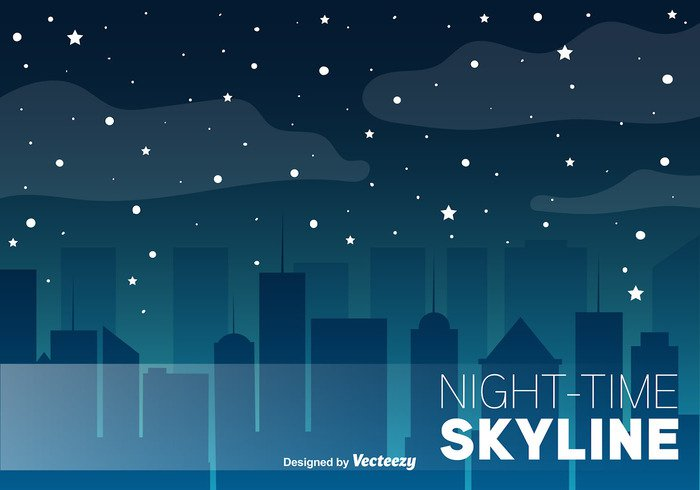 urban town tower street skyscraper skyline sky silhouette scene panorama night moon modern landscape horizon home exterior downtown construction cityscape city building background architecture