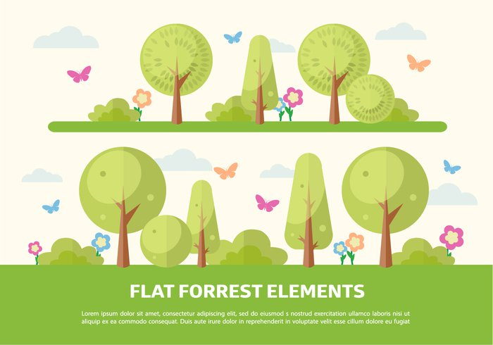 wood web vector tree template symbol sun summer spring simple shape set sequoia season scene rounded rectangle plant pine Outdoor organic nature natural landscape island illustration icon green grass graphic forest flat fir environment energy element ecology eco design cute concept collection cartoon butterfly bush banner background autumn art