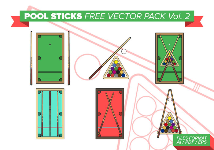 vector table sticks stick sport sphere snooker shiny set recreational rack pool sticks pool Pleasure player play number leisure isolated illustration icon Hobby green game gambling gamble fun equipment entertainment eight cues cue competition color club chalk black billiards billiard balls ball background
