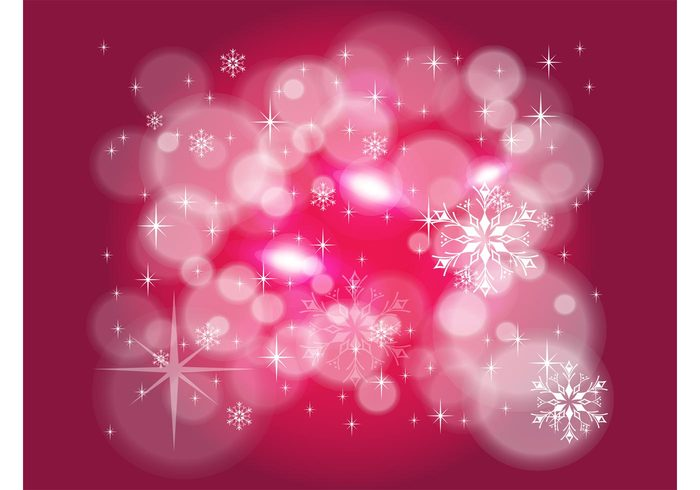 xmas winter stars sparkling sparkles snowflakes snow seasons rays light frozen frost decoration christmas background