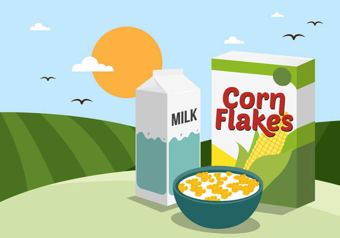 white top view Tasty taste spoon splash snack rolling hills organic nutrition milk meal maize lifestyle healthy eating Healthy health grain full fresh food flowing flake Fall energy eat ease dry drop dish Diet Dairy product crunchy cornflakes corn flakes cereal corn flakes corn cereal brown breakfast bowl