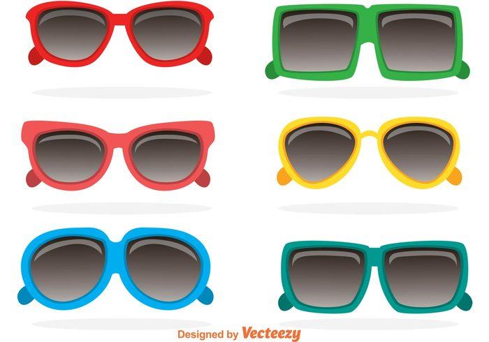 vintage sunglasses vacation sunglasses sun style shape retro sunglasses retro reflection fashion eye colorful bright sunglasses bright 80s sunglasses 80