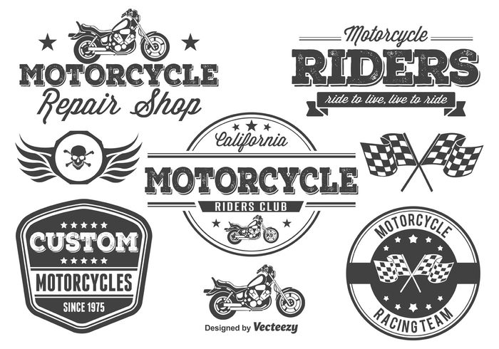 wrench vintage vehicle vector Transmission tournament tag symbol style street sticker stamp sign set service seal Riders rider retro repair racing parts motorcycle elements motorcycle badges motorcycle motorbike motor mechanic labels label key isolated insignia illustration helmet garage flag engine emblem element design crest cool black biker labels biker bike banner badges badge