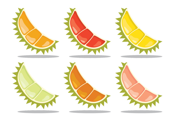 yellow white vector tropical symbol sweet summer strong snack smelly smell scent Ripe red plant organic orange olive obesity nutrition nature natural isolated illustration Healthy green graphic fruit freshness fresh food fat exotic energy durian drawing design delicious color cartoon Calories background Asian asia art