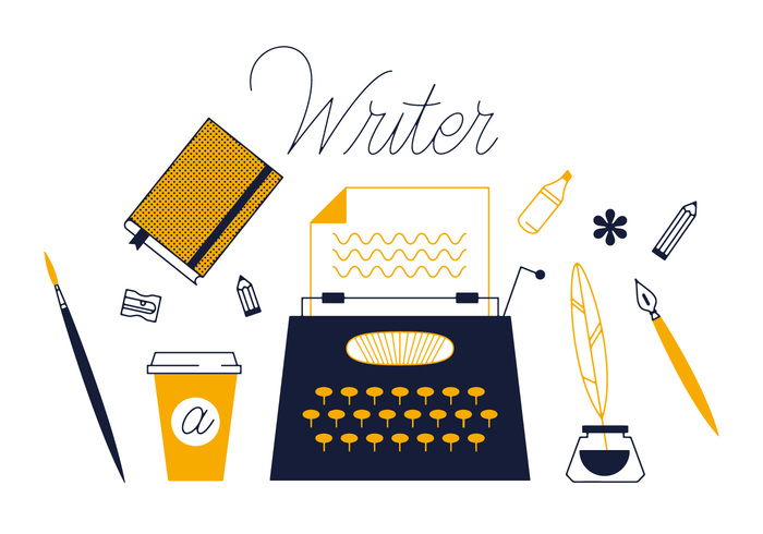 writer write workstation workspace workplace typewriter type personal paper page object message journalist hipster equipment device desktop creative business