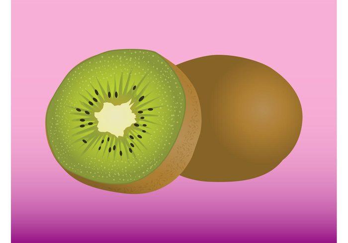 vitamins tropical seeds Ripe peel new zealand Kiwis Healthy fuzzy Fuzz fruit fresh food exotic eat dessert