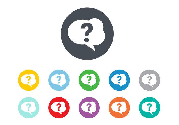 Free Question Mark Icon Vector 140498