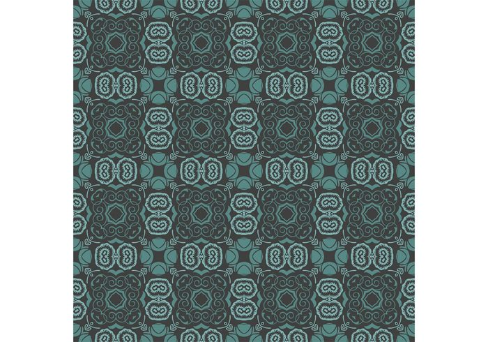 wallpaper vector pattern Textile psychedelic print plants pattern op art floral background backdrop