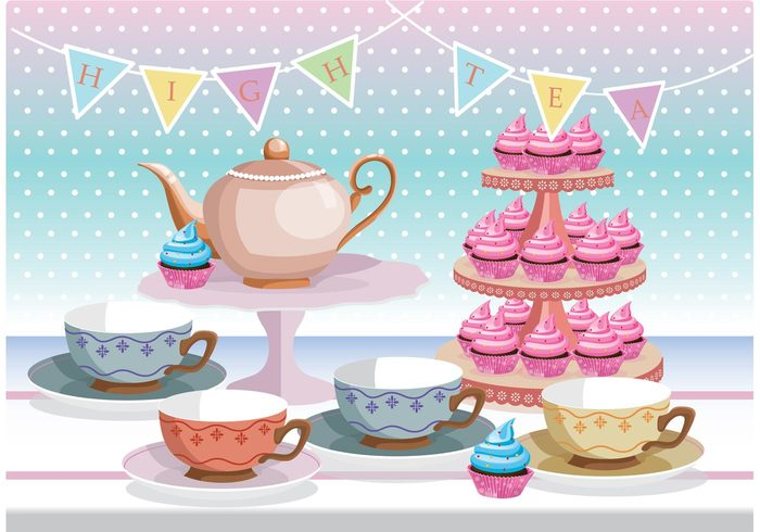 vintage traditional teacup tea party Tea kettle tea sweet sugar snack shabby porcelain plate pink pastel party ornate luxury high tea gourmet Frosting frosted food english drink dessert decorated cupcakes cupcake stand cupcake cup chic ceramic cake beverage antique afternoon